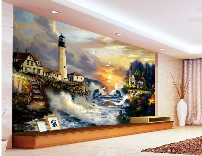 Papel de parede european high definition landscape for Define mural painting
