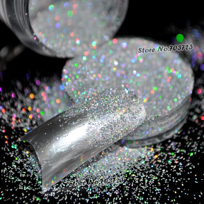 The new design of the new Glitter Dust Nail Tips UV Acrylic Decoration Colorful N32(China (Mainland))
