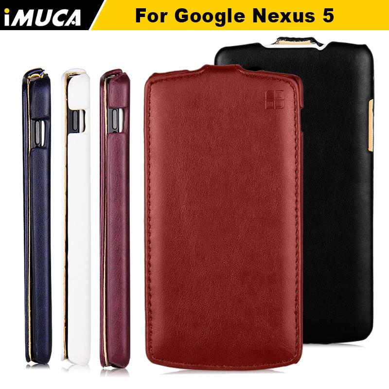 for lg nexus 5 Case flip leather cover for LG Google Nexus 5 Nexus5 E980 D820 D821 case cover iMUCA mobile phone bag(China (Mainland))