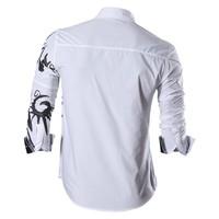 Мужская повседневная рубашка 2016 Fit Z030