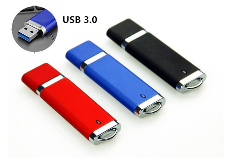 3 colors High Speed Device USB 3.0 Flash Drives Pendrive 64GB 32GB 16GB 8GB Pen Driver Personalized Clef USB Flash Jump Drives(China (Mainland))