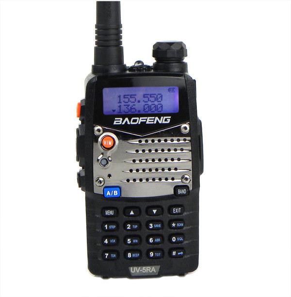 Hot Walkie Talkie Baofeng UV 5RA 128CH UHF+VHF Ham Two Way Radio Communicator A0888A(China (Mainland))
