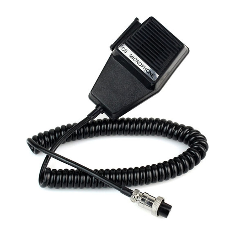 Workman CM4 CB Radio Speaker Mic Microphone 4 Pin for Cobra / Uniden Car CB Radio Walkie Talkie Ham Radio Hf Transceiver J6285A(China (Mainland))