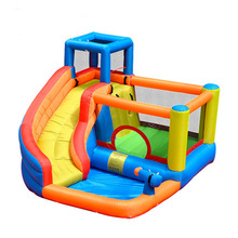 Baby Toy Kid Inflatable Trampoline Water Gift Children's Inflatables Slides Pool For children Jumping And Swimming Toys For Kids(China (Mainland))