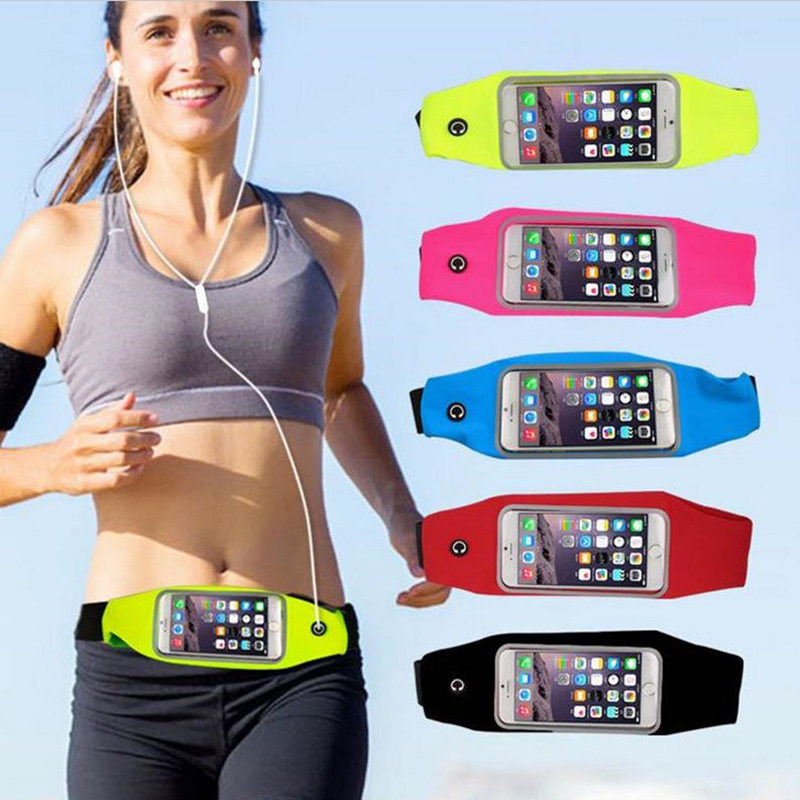 Newest Waterproof Sport Gym Waist Bag Case For Samsung Galaxy Note 1 2 S2 S3 S4 S5 Mini S7562 Running Wallet Mobile Phone Pouch(China (Mainland))