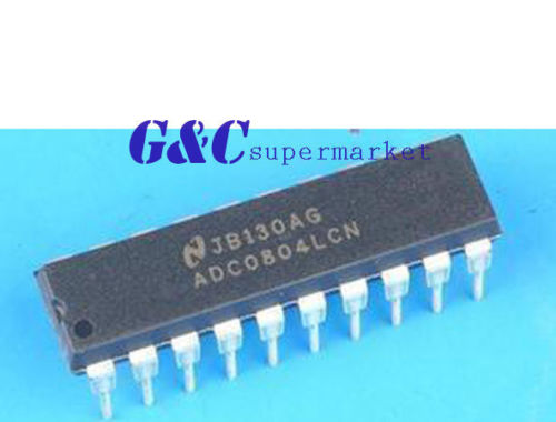 5PCS ADC0804LCN 8-Bit uP Compable Converters DIP NEW GOOD QUALITY(China (Mainland))