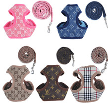 Fashion Dog Harness and Leash Small Pet Harness and Leash Pet Dog Harness(China (Mainland))