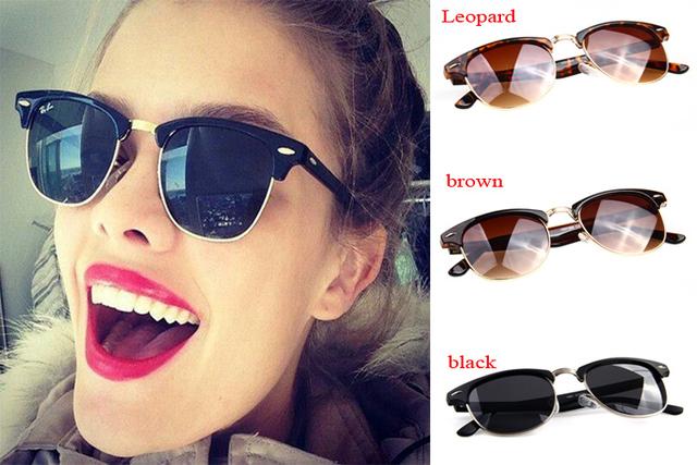 Nueva moda 1 pcsPopular Retro Vintage Mujer De Gafas para fines De conducción, buena Sale