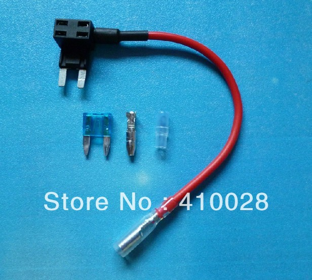 1PCS new model Mini Blade Fuse Tap Holder Add A Circuit Line ATM APM Car Truck Motorcycle Motorbike Free shipping<br><br>Aliexpress
