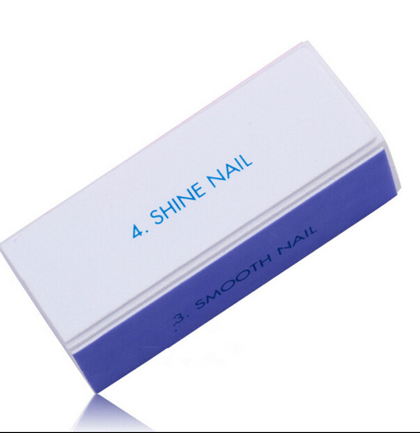 Wholesale Good Quality 100Pcs Nail Art BU Manicure 4 Steps Shiner Buffer Buffing Block Sanding File AU014, Free Shipping<br><br>Aliexpress