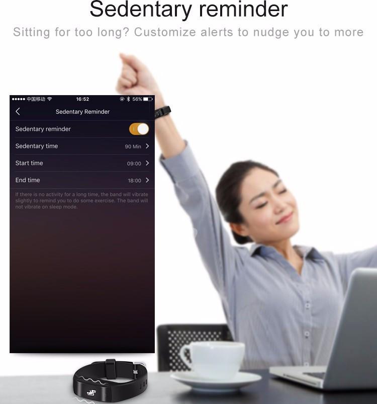 Смарт-Диапазона C5 Умный Браслет Динамический монитор сердечного ритма Bluetooth Браслет Смарт Спортивные Часы Сна Tracker Для IOS Android