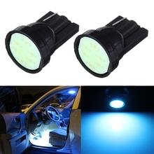 Best Price T10 W5W 194 168 501 1 SMD LED COB Car Auto Side Wedge Light Lamp Bulb Ice Blue DC12V(China (Mainland))