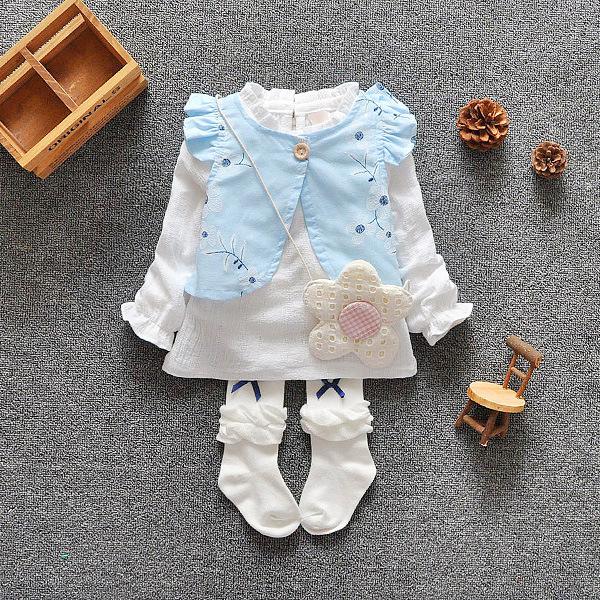 spring and autumn 0-2 yrs baby clothing floral cotton lovely princess newborn baby tutu dress infant dresses vestido infantil(China (Mainland))