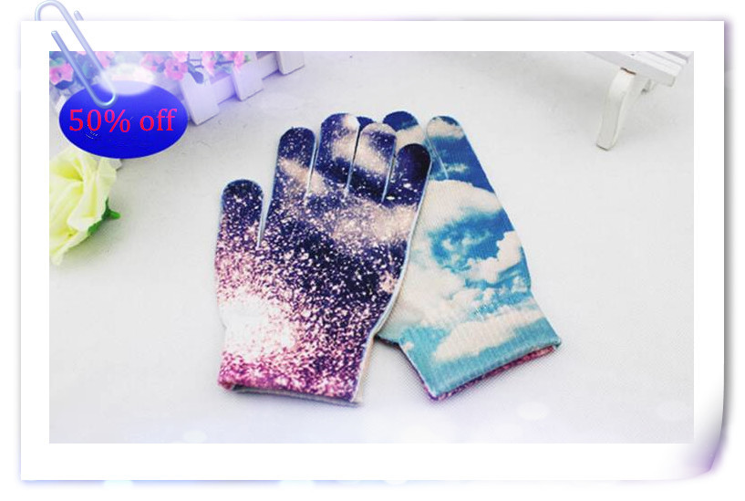 Wholesale acrylic cheap custom knit winter glove(China (Mainland))