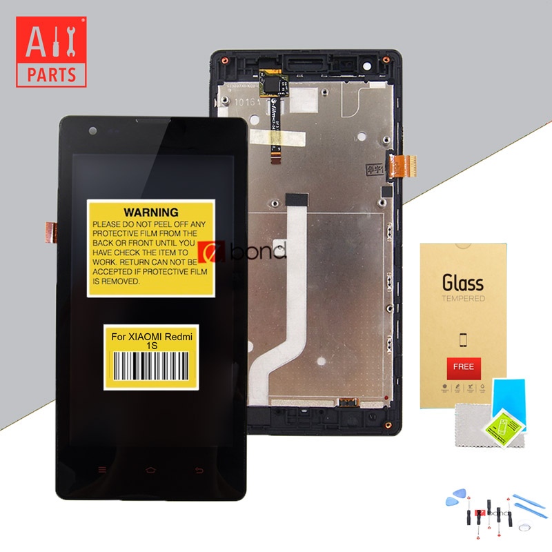 IPS 1280x720 3G Mode For XIAOMI Redmi 1S LCD Display with Touch Screen with Frame Digitizer Assembly(China (Mainland))