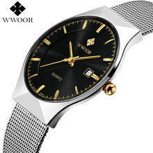 Buy New Men Watches Top Brand Luxury 50m Waterproof Ultra Thin Date Clock Male Steel Strap Casual Quartz Watch Men Wrist Sport Watch for $17.99 in AliExpress store