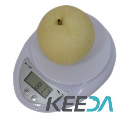 High Precision 5kg Digital Electronic Kitchen Food Scale Retail Packing - Shenzhen Keeda Co., Ltd. store