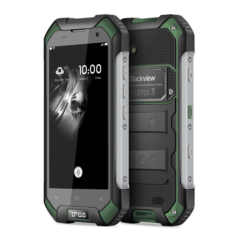 IP68 WaterProof Blackview BV6000 Mobile phone 4G LTE Android 6.0 MTK6755 Octa Core 3GB+32GB 13MP GPS Glonass In Stock