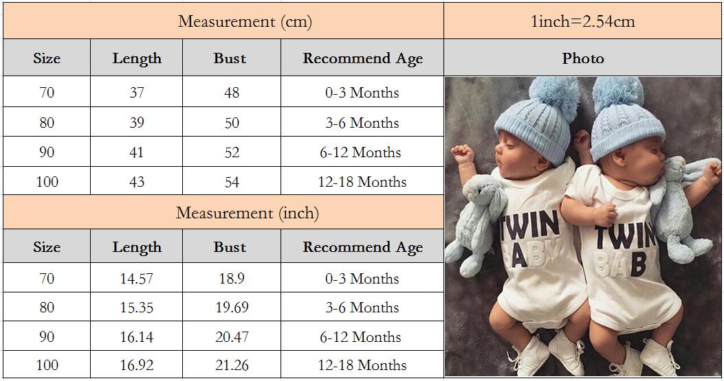 2019 для новорожденных боди Одежда близнецов девочек Детская одежда; мальчиков