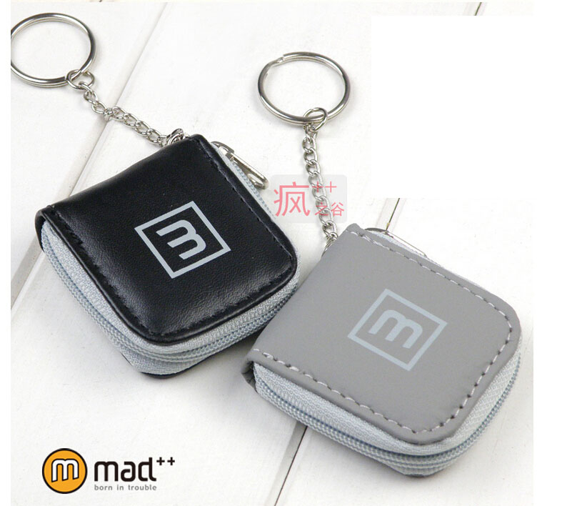 Multi 6 Slots mini Memory Card Case Storage Carrying Pouch Micro SD SIM card Holder For zip/zipper with key chain Free Shipping(China (Mainland))