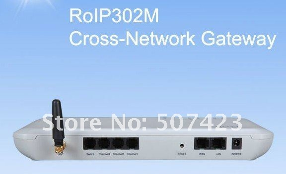 RoIP-302M Cross-Network RoIP Gateway Intercom System Radio over IP Portable Radio
