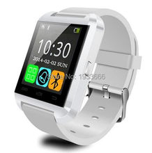 U8 smart wristwatch phone dial and receiving the phone call pedometer health fitness activity tracker fits for android and IOS