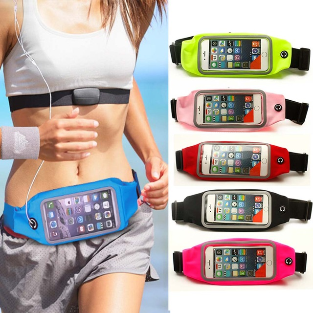 For Elephone S3 For Elephone Phone cases GYM case cover PINK celular GYM Waist Bag Waterproof sports running mobile phone Pouch(China (Mainland))