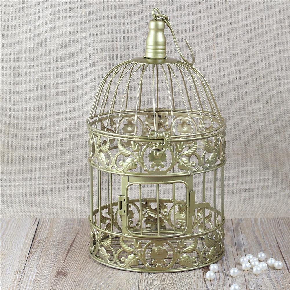 37 unique birdcage centerpieces for weddings table decorating ideas. Black Bedroom Furniture Sets. Home Design Ideas