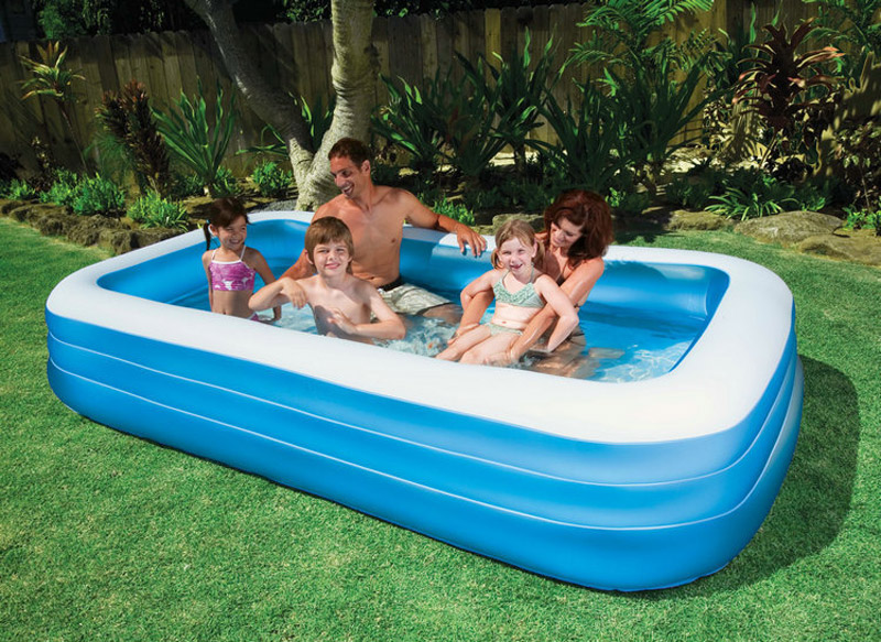 Intex 58484 Big Size 305 183 56cm Blue And White Above Ground Pool Family Pool Swimming Pool