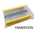 1 Pack 1200Pcs 10 1M Ohm 1 4w Resistance 1 Metal Film Resistor Resistance Assortment Kit