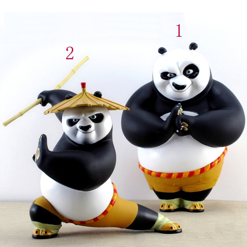 Kung Fu Panda 3 Toys PO 6''/8'' PVC Collection Figure