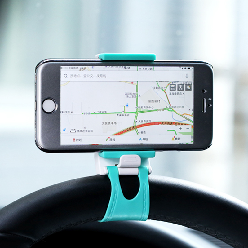 For Iphone 6 6s Plus/5s For Samsung Note 4 S6 edge S5 Steering wheel Phone Bracket 3.5''-6'' Universal Car Phone Holder Stand(China (Mainland))