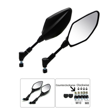 For Yamaha R3 MT-07 MT-09 FZ6 FZ8 Rear View Rearview Mirrors Also fit for KTM DUKE 125 200 390 690 Z750 Z800 Z1000 ER6N(China (Mainland))