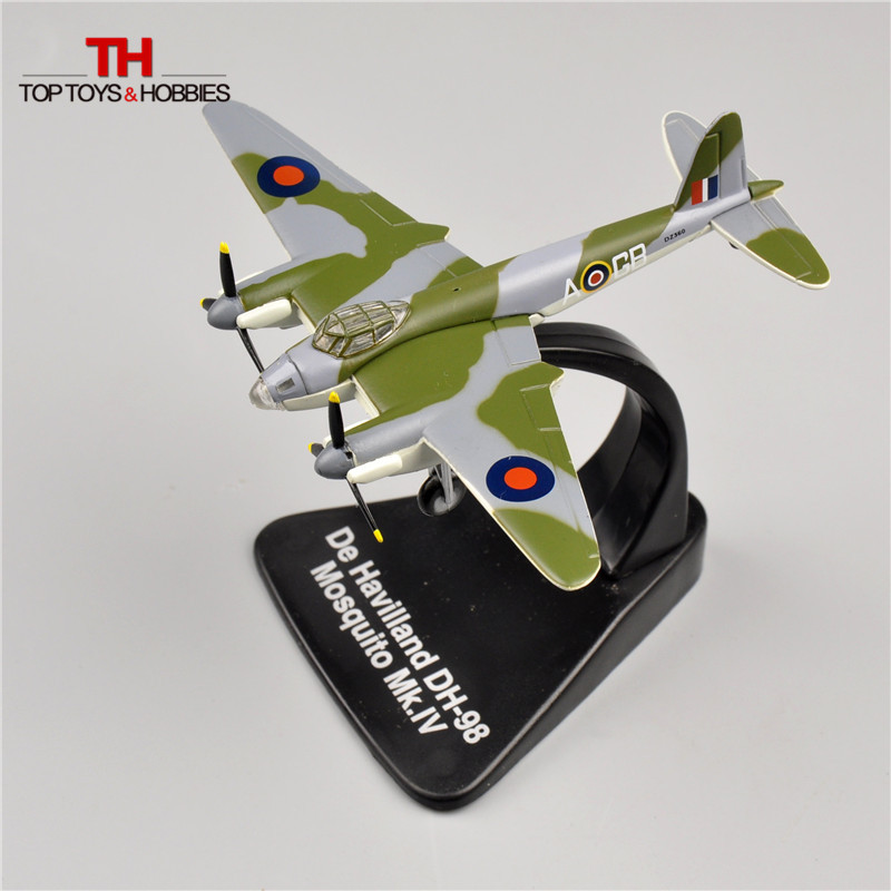 Atlas 1/144 Fighter WW2 British Attacker De Havilland DH-98 Mosquito MK.IV Alloy Airplane Model Diecast Toys Juguetes Collection(China (Mainland))