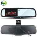 Car Rear View Rearview Mirror Monitor Video Player Special Bracket 4 3 TFT LCD Screen 2