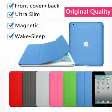 2 in 1 original design nice leather magnetic smart case for apple iPad air 2 1 Pro 9.7 mini 1 2 3 4 cover case slim flip thin(China (Mainland))