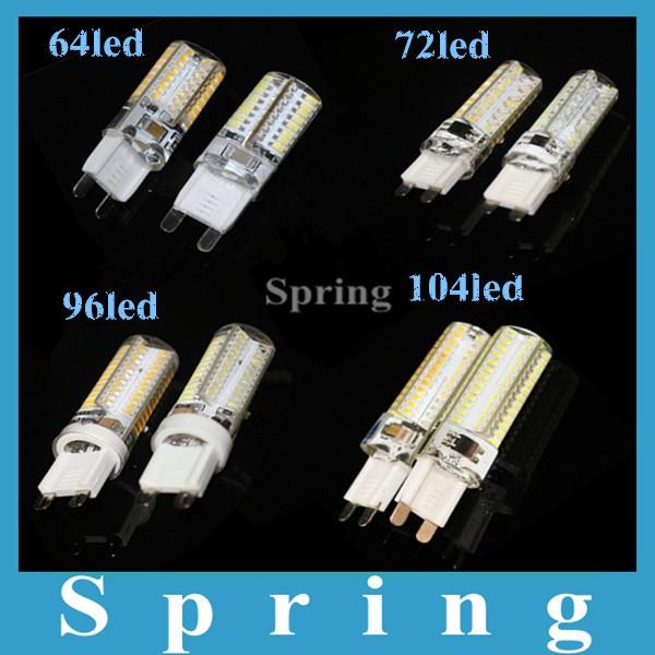 Led G9 LED lamp 2w 3w 5w 7w G9 bulb 12V 220V G9 crystal light bead mini fashion ceramic body high quality Warm white Cold white(China (Mainland))