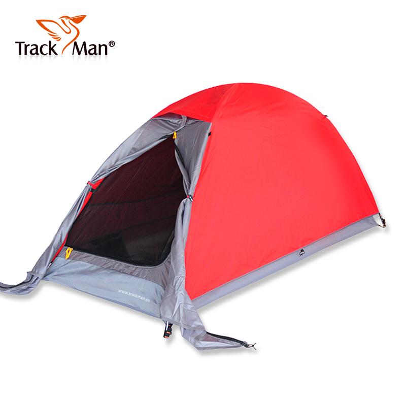 Trackman single tent double layer aluminum poles weatherproof ultra-light camping beach tent<br><br>Aliexpress