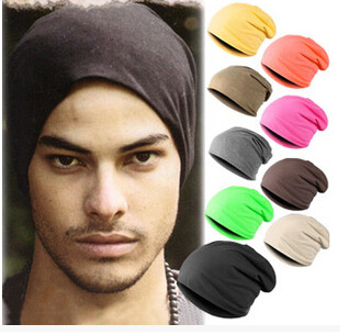 Womens Men hat hot sale 2015 New Cool Unisex Knitted Crochet Winter Warm Ski Slouch Hat,Hip-Hop Cap Beanie,free shipping,SS0002(China (Mainland))