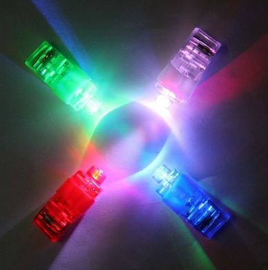 6000pcs/lot LED Finger Laser Beam Lights Finger Ring Light Halloween and Christams Party Supplies Novelty Kids Toys Opp Bag(China (Mainland))