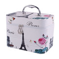 Korean Style Makeup Case Storage Bag Box Brush Holder Artist Bags Zipper Cosmetic Cases Organizer for