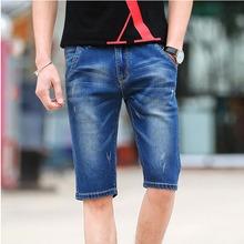 Men'S Denim Shorts 2016 Summer High Quality Casual Brand Jeans Shorts Men Slim Straight Short Pants Fashion C359