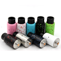 newest colourful Velocity RDA Rebuildable Dripper Atomizer with Wide Bore Drip Tips 6 Air Holes for
