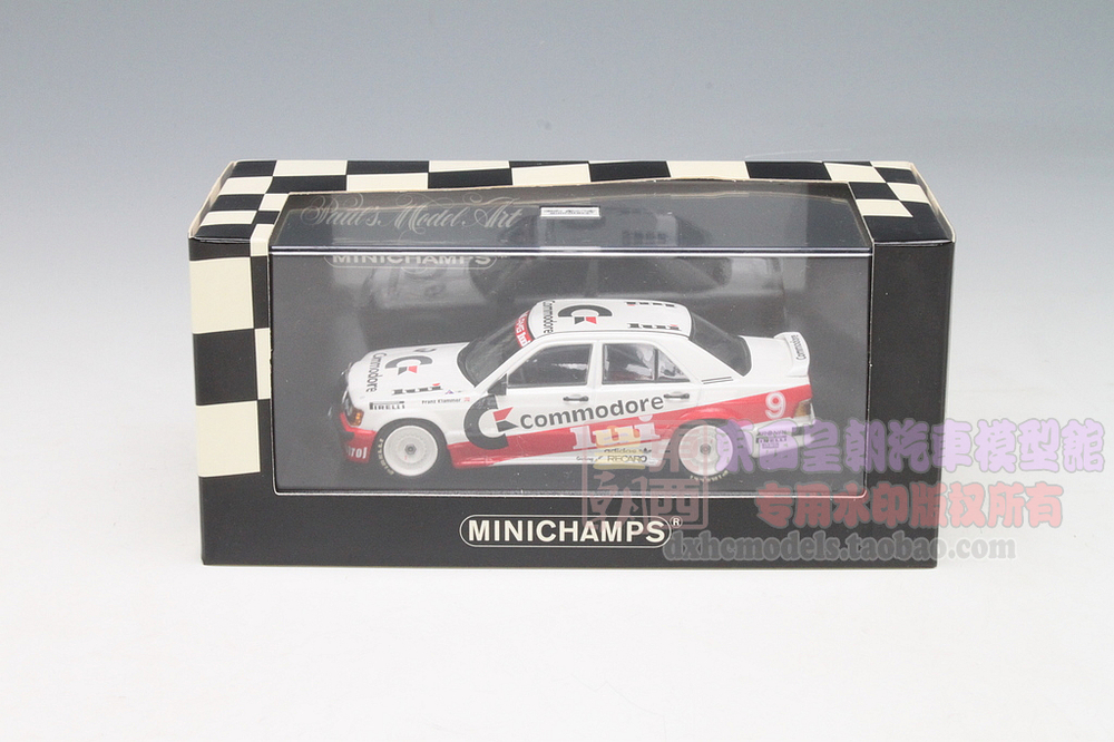 Minichamps 1:43 Mercedes-Benz 190E 1986 DTM Deutsche Tourenwagen Masters no.9 KLAMMER Prime quality resin automobile mannequin free transport