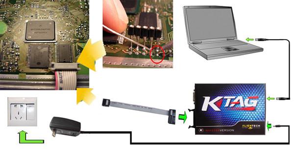 Купить 2016 Новое Прибытие V6.070 KTAG К-TAG ECU Программируя Инструмент Мастер Версия V2.11 с Неограниченным Токена Высочайшее Качество