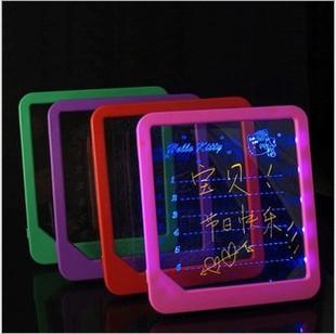 free shipping! Luminous message board handwritten electronic led neon board advertising board birthday gift girlfriend gifts(China (Mainland))