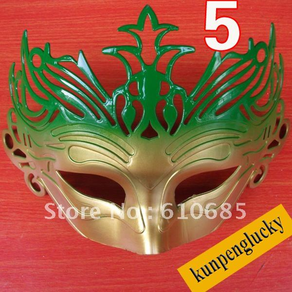 PARTY MASKS Costume Venetian Masquerade Mask Crown Masks 5 Colors Can choose fit halloween(China (Mainland))