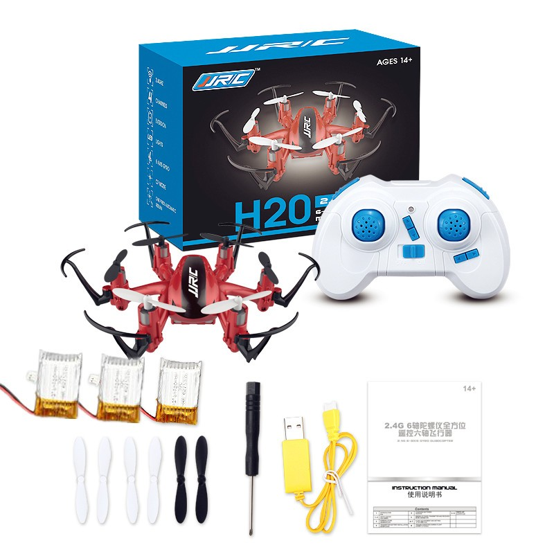 Mini RC Drone 6 Axis Rc Dron Jjrc H20 Micro Quadcopters Professional Drones Flying Helicopter Remote Control Toys Nano Copters(China (Mainland))