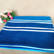 Buy 100% Cotton Blue stripe pattern Bath Towel 92*170 cm Beach Towel Decor Printed Bath Towel Summer Style for $35.14 in AliExpress store