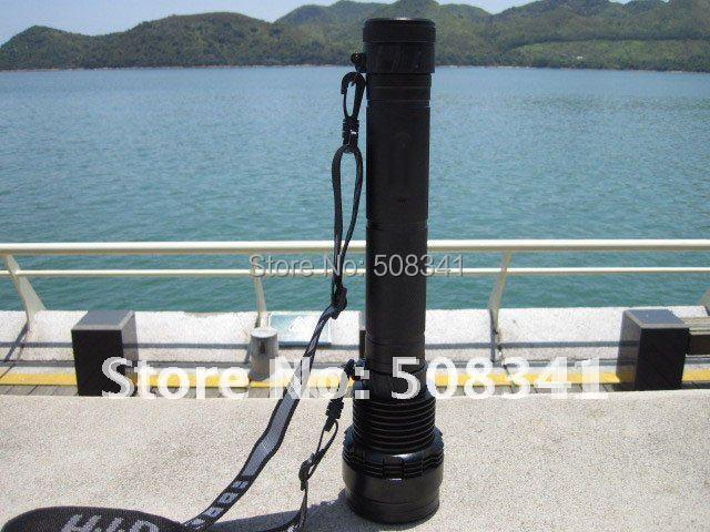 Free Shipping 8000LM Super HID Flashlight with 85w/65w/45w gear(China (Mainland))